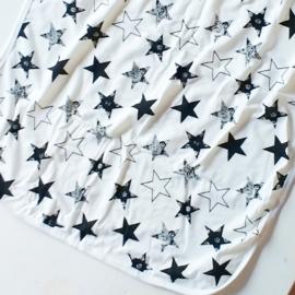Zachte tricot omslagdoek zomer ster