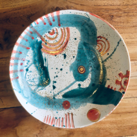 Art Plate: #12 with gold