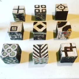 Memory Art Cubes - Mozambique