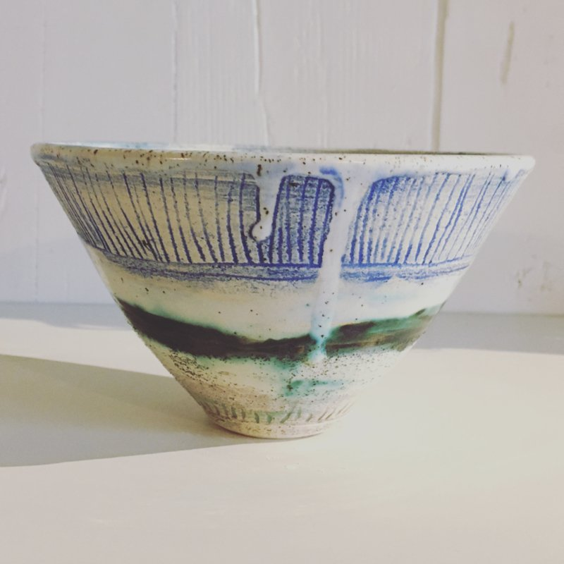 Bowl 15cm - Playing with Oxides