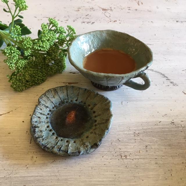 Pinchpot Cup & Saucer