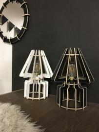 Tafellamp 'Desklamp no. 1' | naturel, grijs, zwart, wit