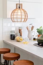 Hanglamp 'Globe' naturel