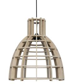 SALE! Houten hanglamp 'Cone' | naturel 30cm