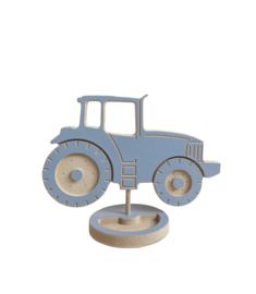 Houten tractor met naam