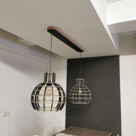 Platte montagebalk / plafondbalk (31mm)