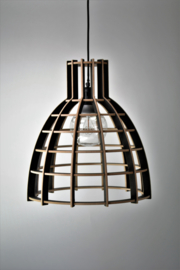 Hanglamp 'Cone' semi black
