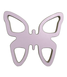 Houten vlinder met naam