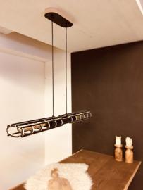 Exclusieve design hanglamp 'SideBySide' | zwart