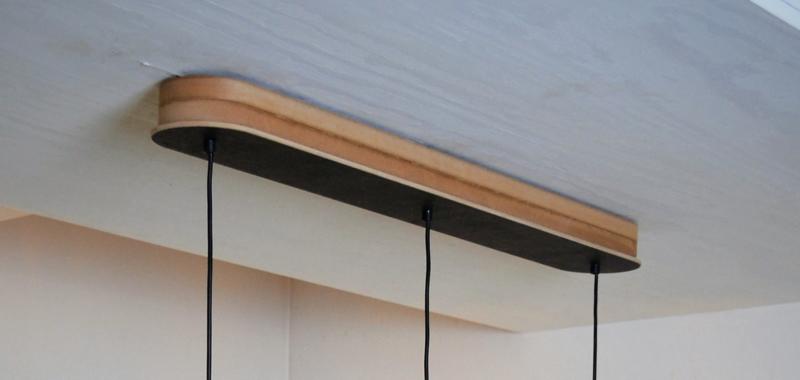 Houten montagebalk / plafondbalk in diverse kleuren