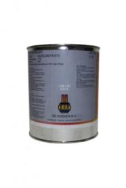 Hittebestendige verf - Zwart 6204 - blik 1 liter
