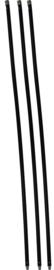 Schoorsteenveegset Basic 3,6  meter met nylonborstel