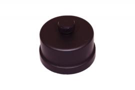 Pelletkachelpijp 80 mm - Dop voor T-stuk met condensafvoer
