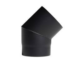 EW150 - Bocht 45°  Zwart