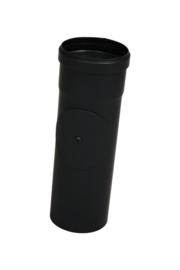 Pelletkachelpijp 80 mm - 25 cm met luik