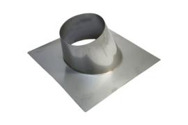 Dakplaat hellend 5 - 25° RVS - 200 mm