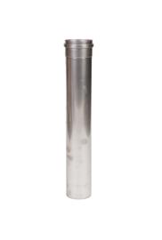 Pelletkachelpijp 50 cm RVS 100 mm