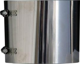 Klemband RVS 130 mm