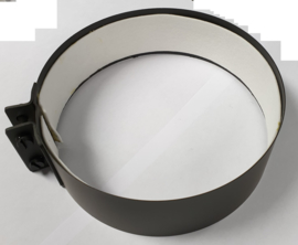 EW150 - Klemband met vilt - Zwart