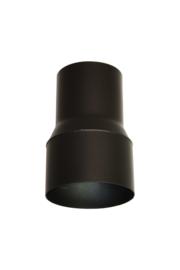 Pelletkachelpijp verloop 80 mm - 100 mm Male/male