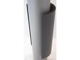 Dubbelwandig hitteschild voor kachelpijp 150 mm Zwart