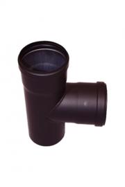 Pelletkachelpijp 80 mm - T-stuk 90°