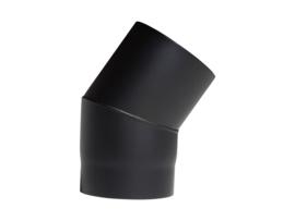 EW150 - Bocht 33°  Zwart