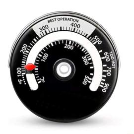 Thermometer magnetisch voor kachelpijp