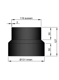 Verloop 119 - 131 Zwart