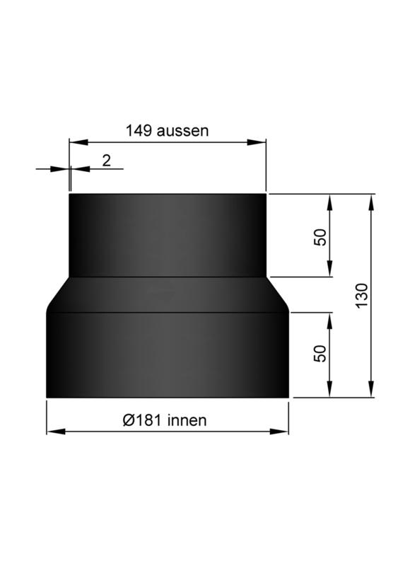 Verloop 149 - 181 Zwart