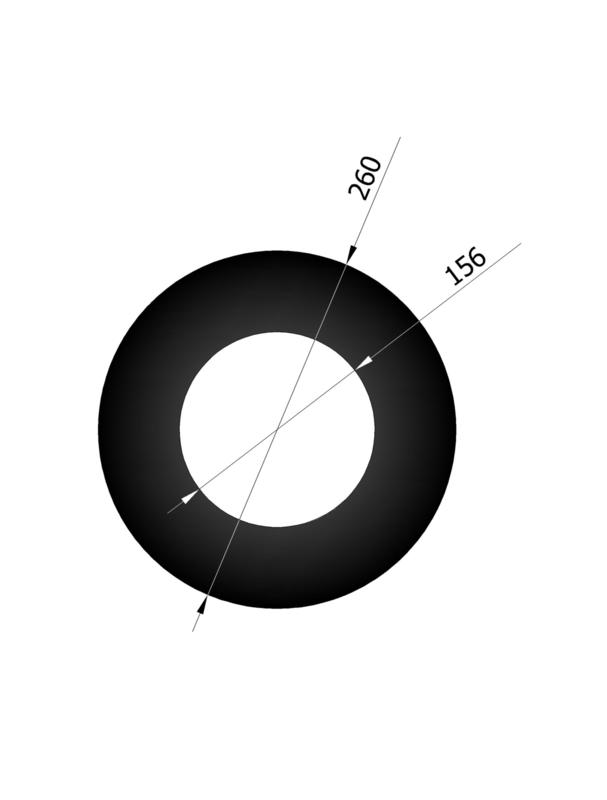 EW150 - Rozet Zwart Emaille