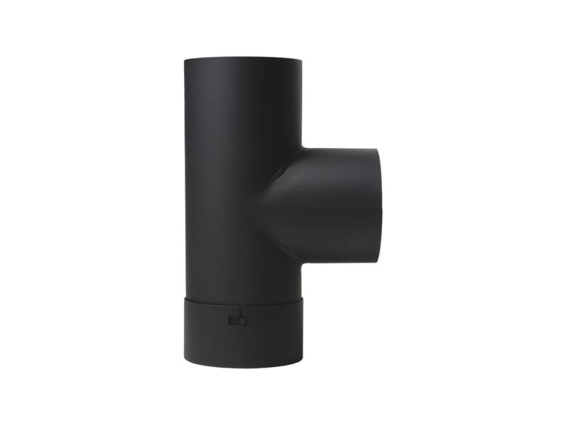 EW150 T-stuk met dop Antraciet/grijs