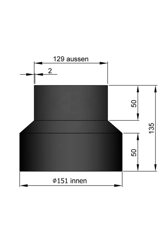 Verloop 129 - 151 Zwart