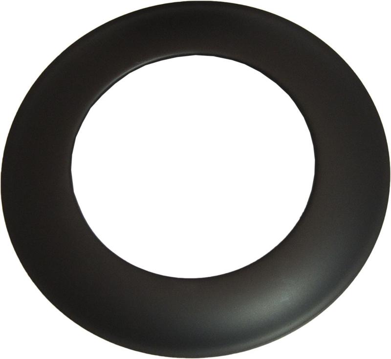 Rozet 150 mm Zwart