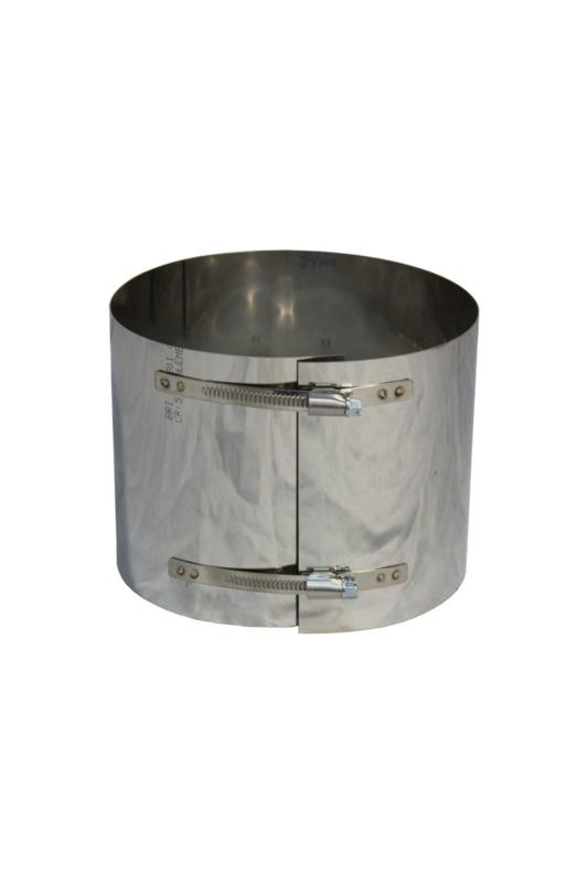 Klemband voor Flex RVS 150 mm