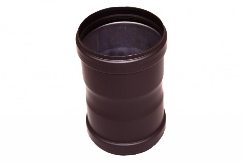 Pelletkachelpijp 100 mm - Mof/sok  Female