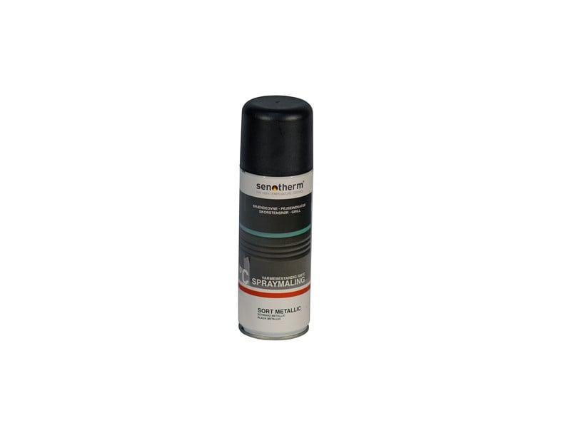 Senotherm verf spray Zwart