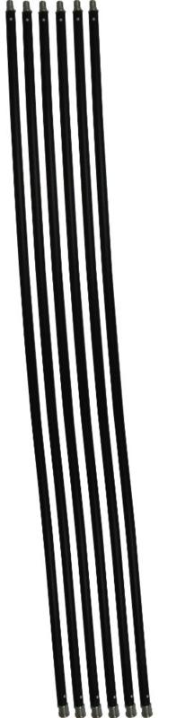 Schoorsteenveegset Basic 7,2  meter met nylonborstel