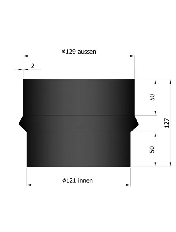 Verloop 129 - 121 Zwart