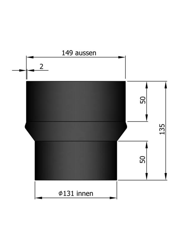 Verloop 149 - 131 Zwart