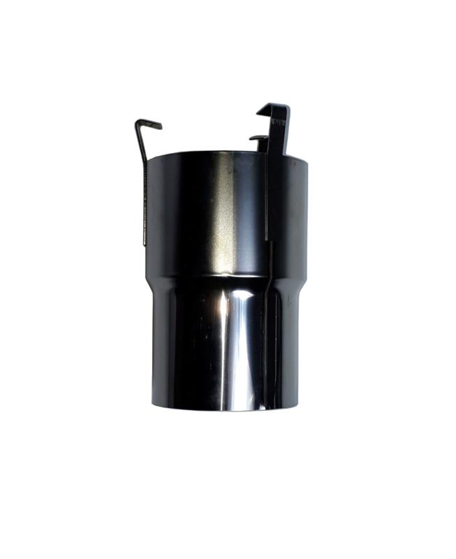 Koppelstuk Flexibel RVS 80 mm