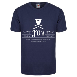 JD's T-shirt ``blue full logo``