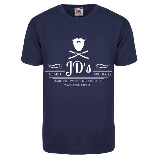JD's T-shirt ``blue full logo``