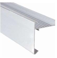 Daktrim aluminium standaard L=2,5mtr 35x35mm
