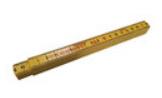 Standaard Duimstok - Flexibel Kunststof - 2 mtr