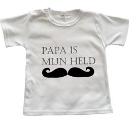 Vaderdagshirtje Papa is mijn held