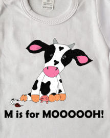 Shirtje M is for Mooooh!