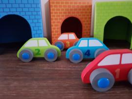 Auto garage stapelblokken