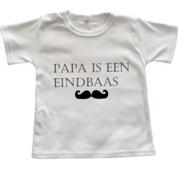 Vaderdagshirtje Papa is een eindbaas