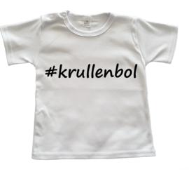 Shirtje #krullenbol